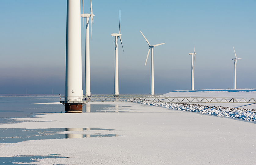 Turbines Mist Hills Forest   Orga