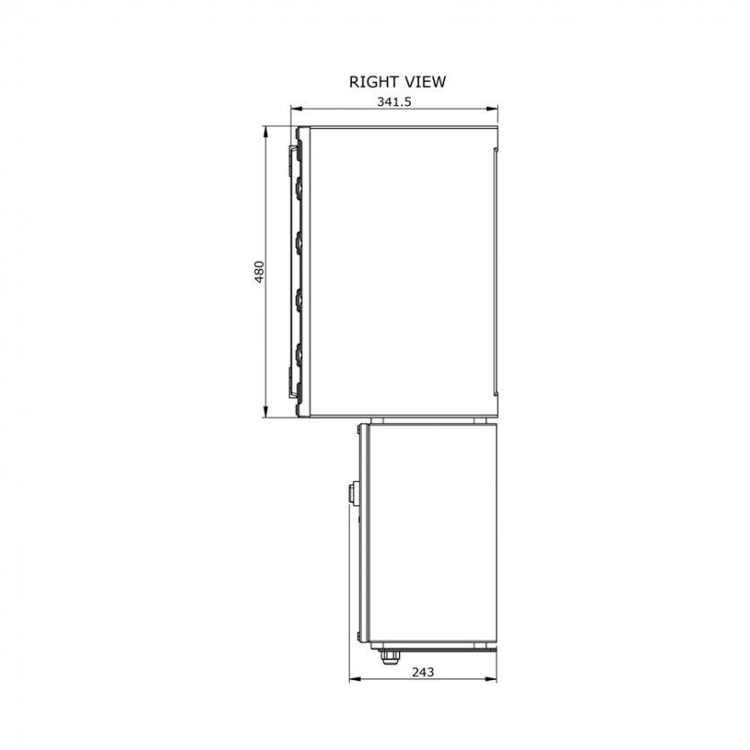 dbo-432-ac-htp100ex-technical-drawing-2