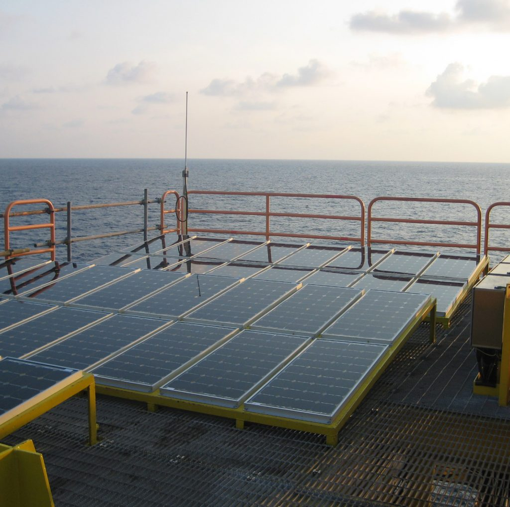 Solar power offshore | Orga