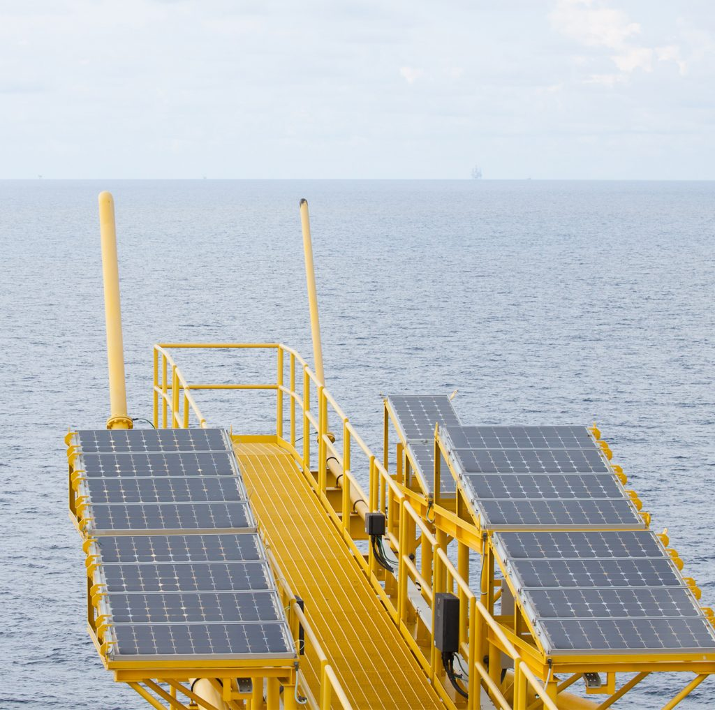 Remote Power System Orga Manager Solar Offshore