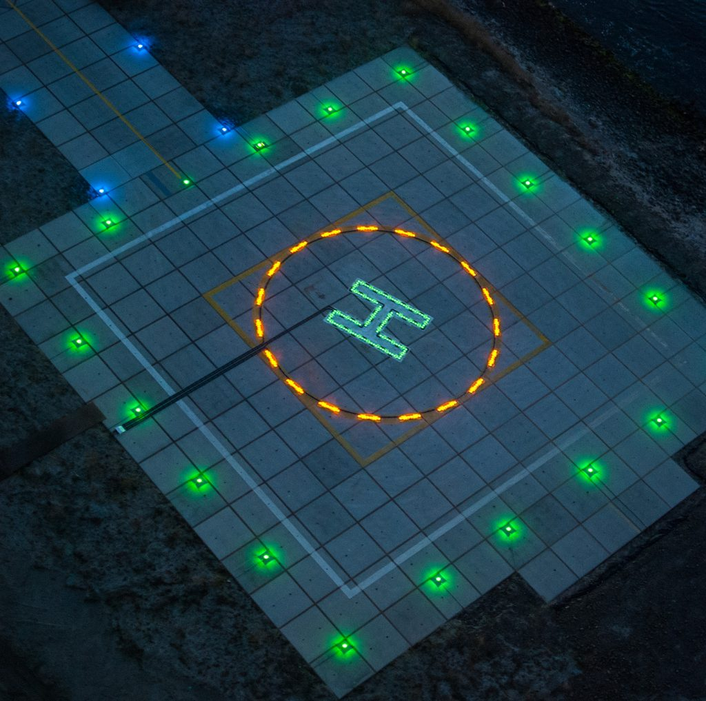 Helideck Circle-H system | Orga