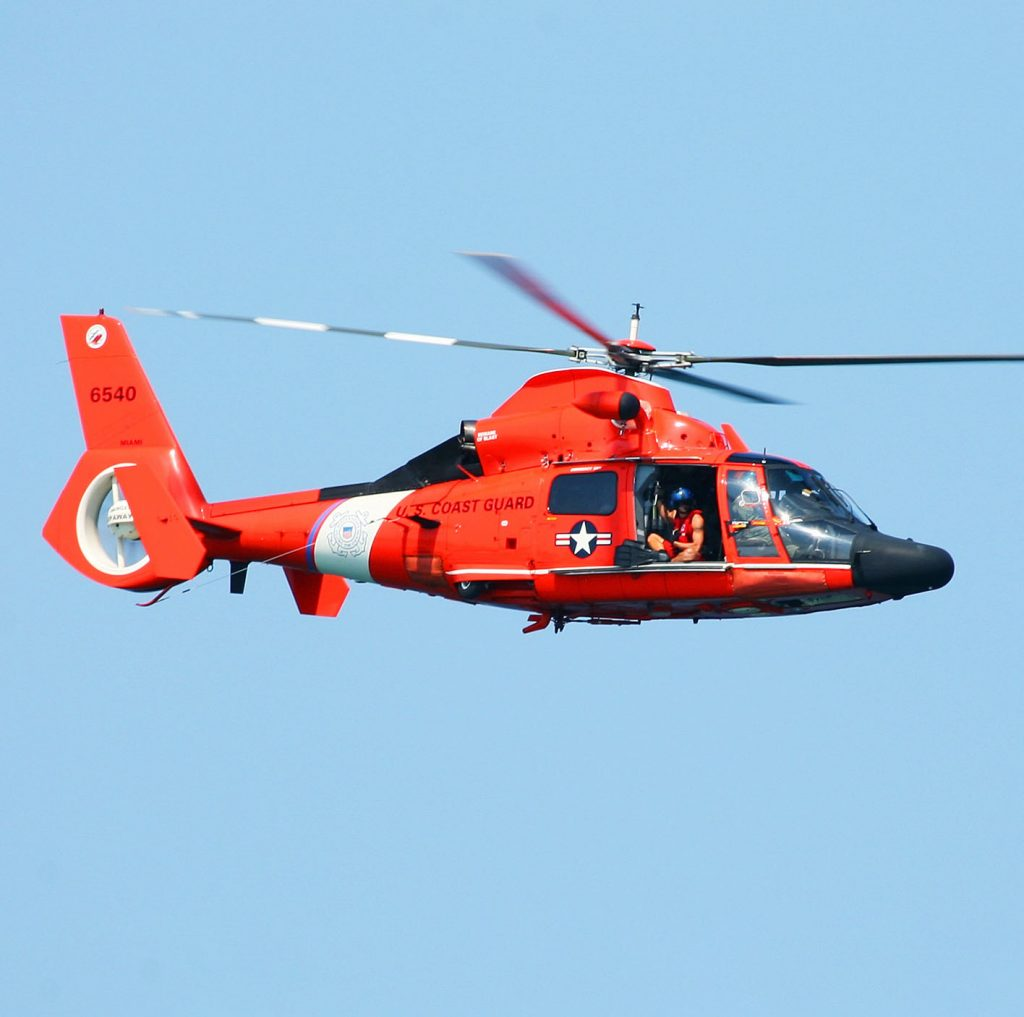 USCG helicopter | Orga