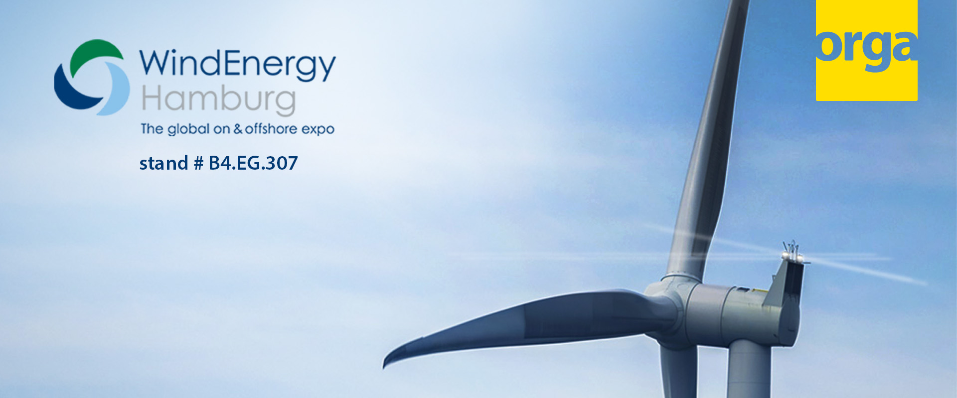 Orga at Wind Energy hamburg 2018