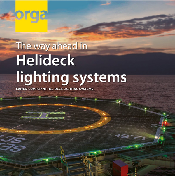 Helideck lighting systems product brochure