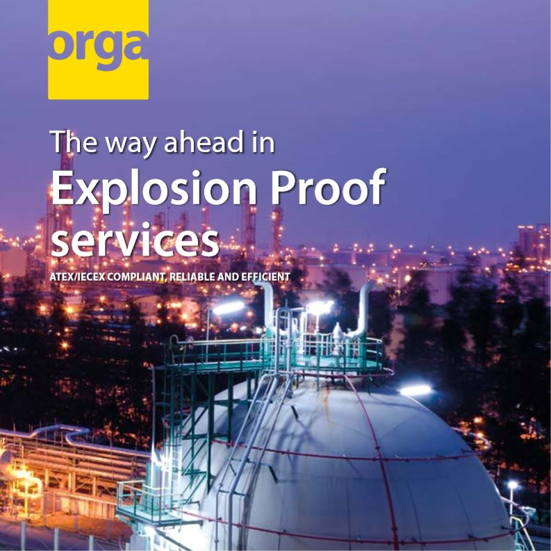 Explosion Proof Services – cover brochure